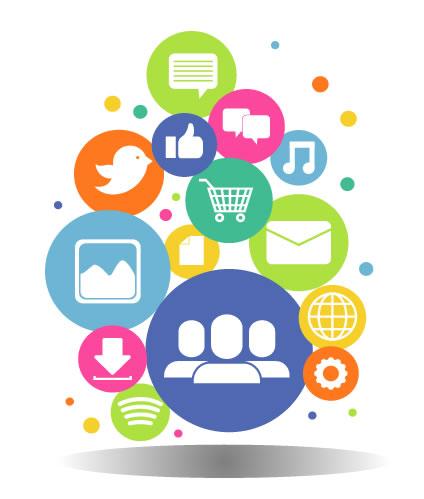 facebook social media twitter social media logos
