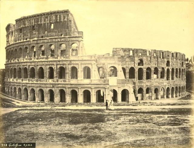 Colosseo. Roma, 1860 ca.