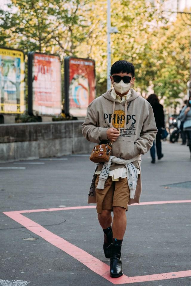 Declan Chan, Parigi, ottobre 2020