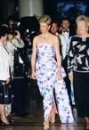 Lady Diana in Catherine Walker