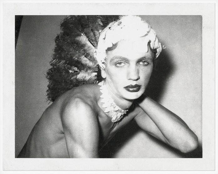 Untitled, 1973 Archival pigment print reproduction in museum grade frame, original polaroid in archival box 8.5 x 10.7 cm (unframed) / 38.1 x 31.6 cm (framed) PFEI/PH 272