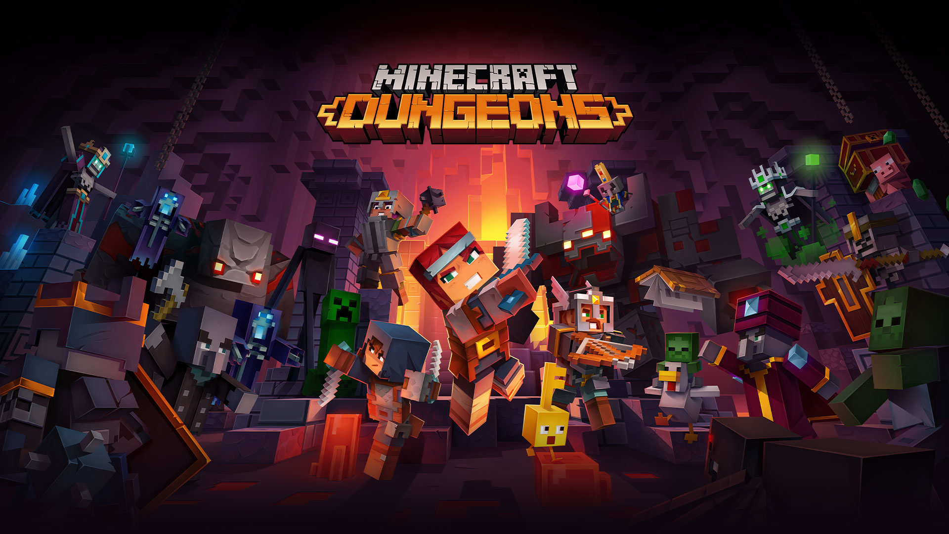 Minecraft Dungeons For Xbox One And Windows 10 Xbox