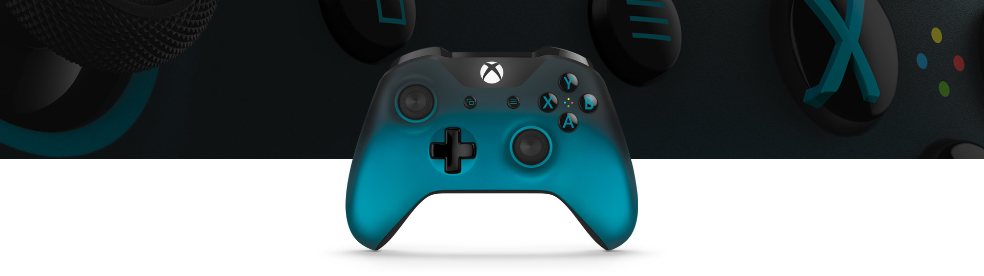 small resolution of xbox wireless controller ocean shadow special edition