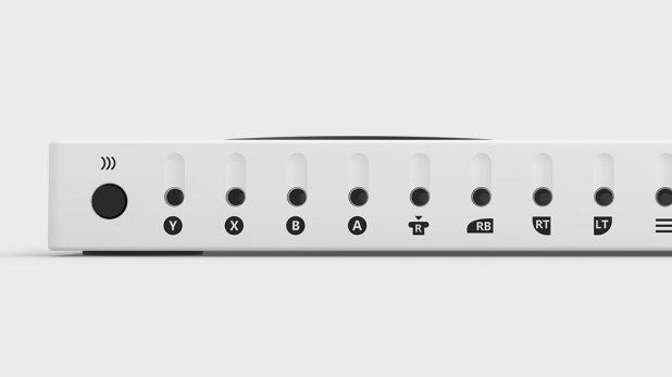 Appearance of Xbox Adaptive Controller ports for game
