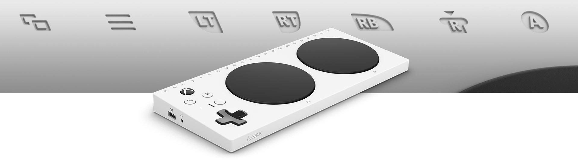 xbox adaptive controller [ 1920 x 540 Pixel ]