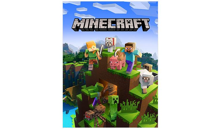 free illustration minecraft video game play