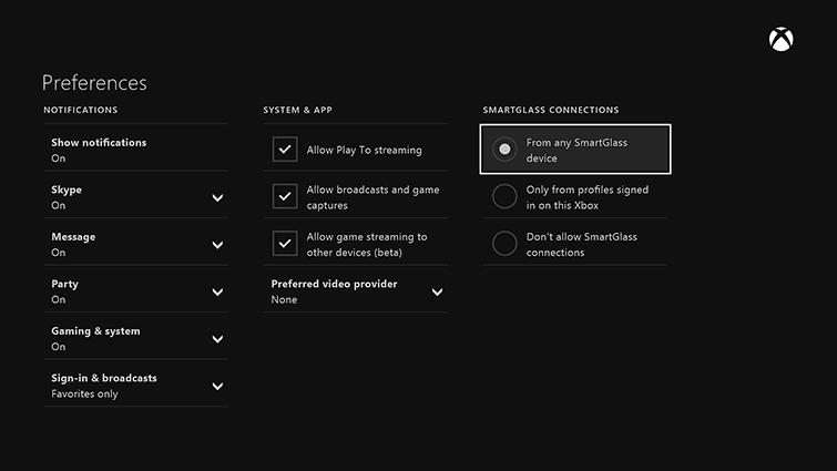 Troubleshoot Xbox App Game Streaming Xbox App On Windows 10
