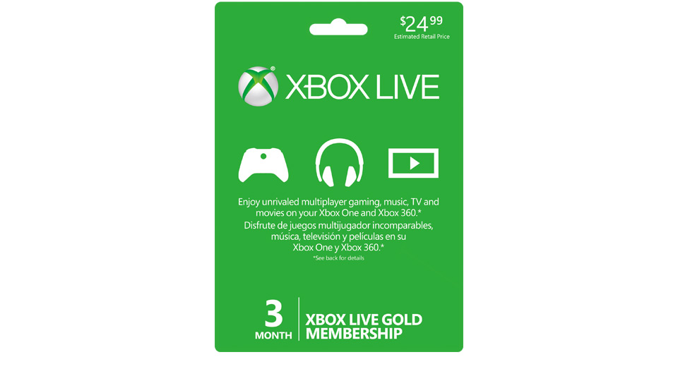 Xbox Live 3 Month Gold Membership Price In Pakistan