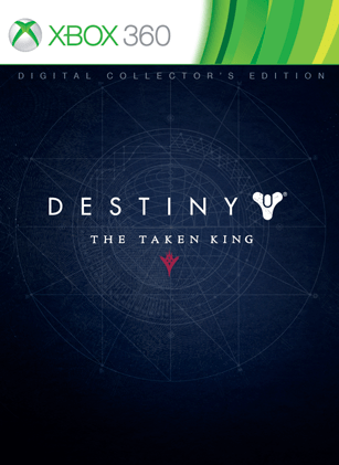 Destiny the taken king digital collector s edition xbox 360 destiny