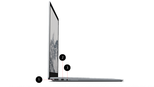 Surface Laptop features