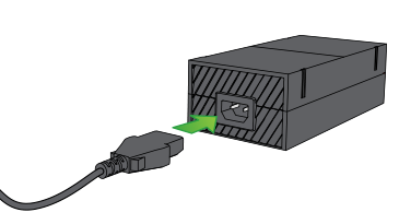 How To Connect The Power Supply Xbox One