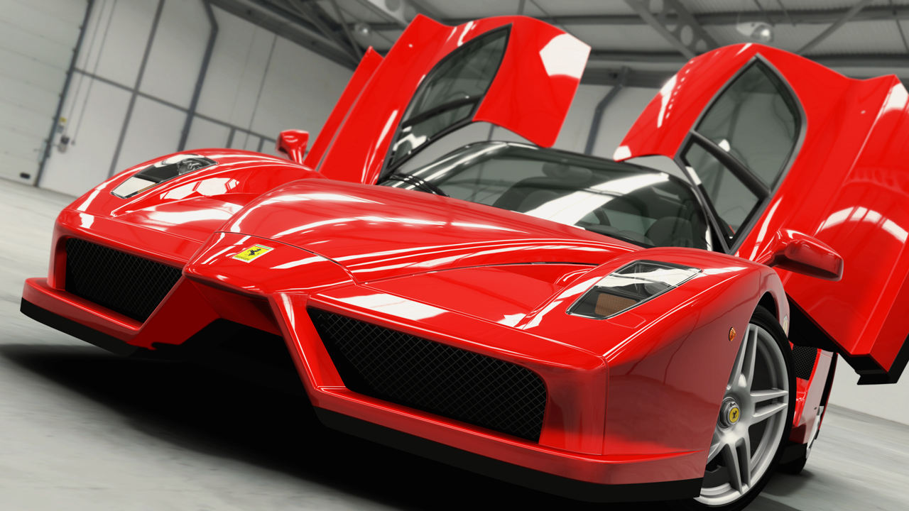 Car Parked At Night Wallpaper  Forza Motorsport 4 Features