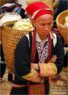 Red Dao tribe