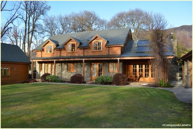 The lodge at Wanaka Homestead