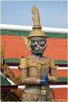 Near Phra Siratana Chedi