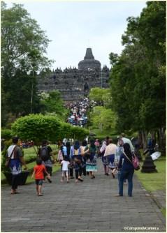 Stairs to Borobudur