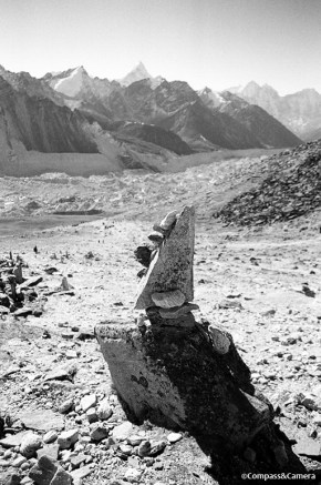 Cairn above the Khumbu Valley