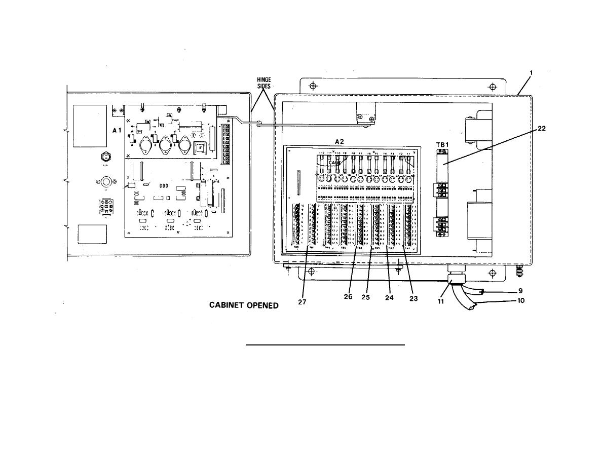 FIGURE 2-7. Relay Transmitter Replacement (Sheet 2 of 2).