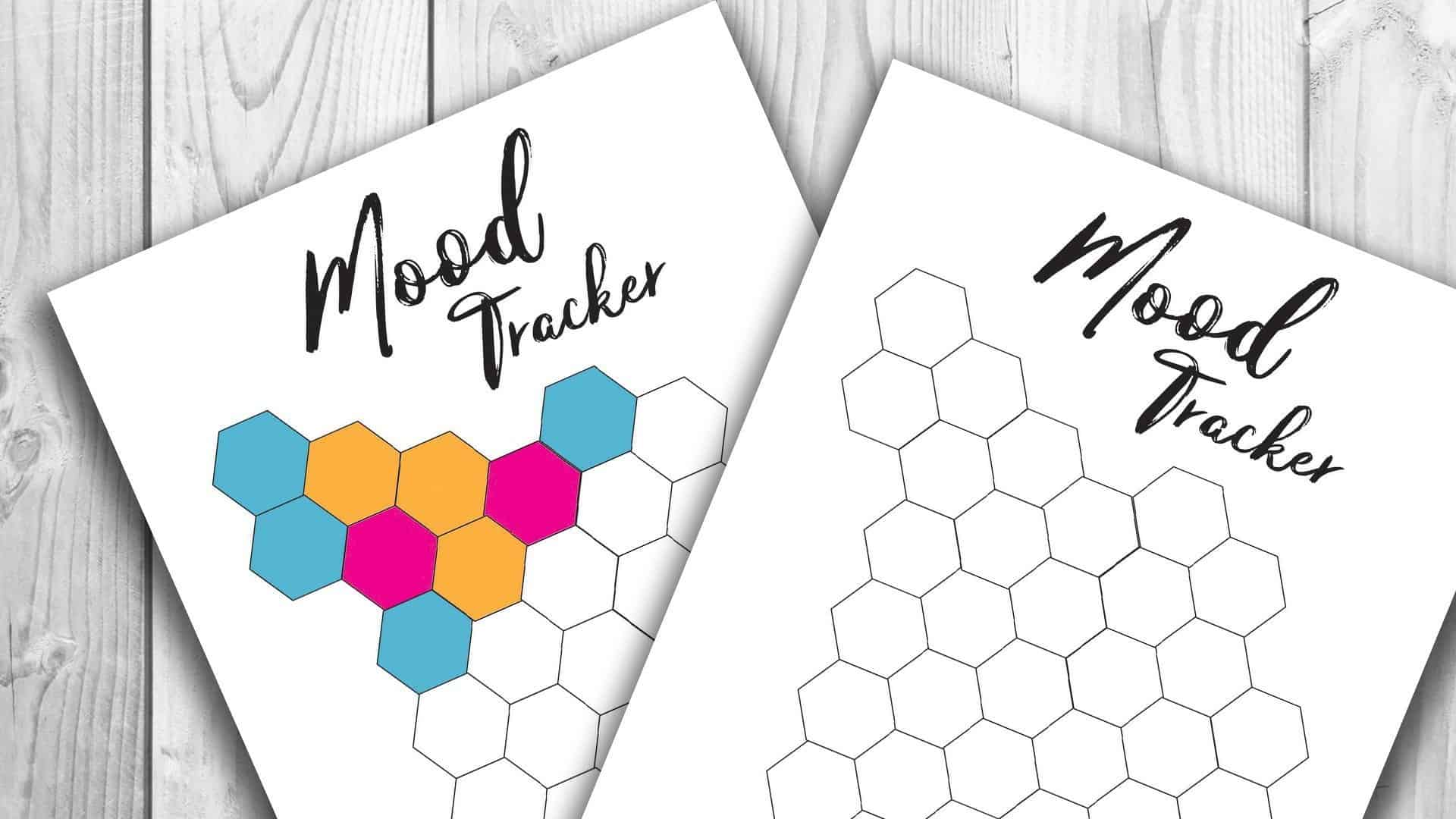 It's just a picture of Ambitious Free Mood Tracker Printable