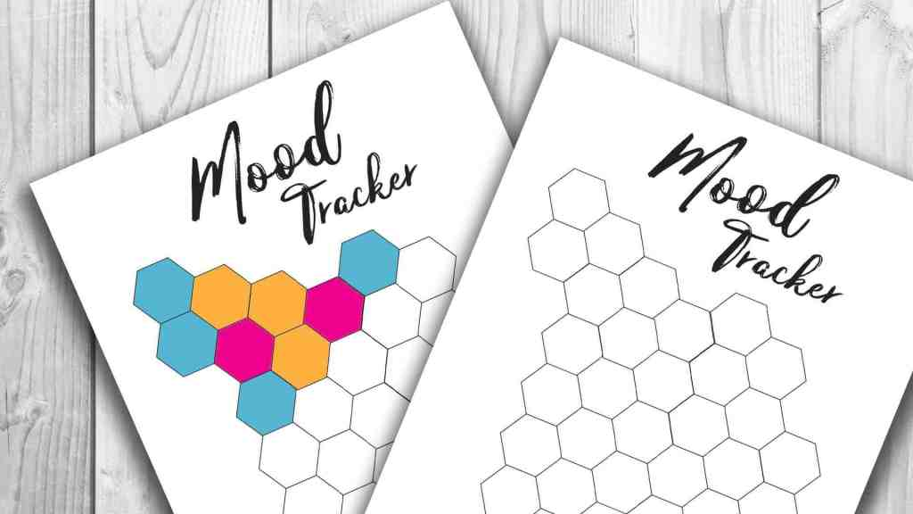 mood tracker printable