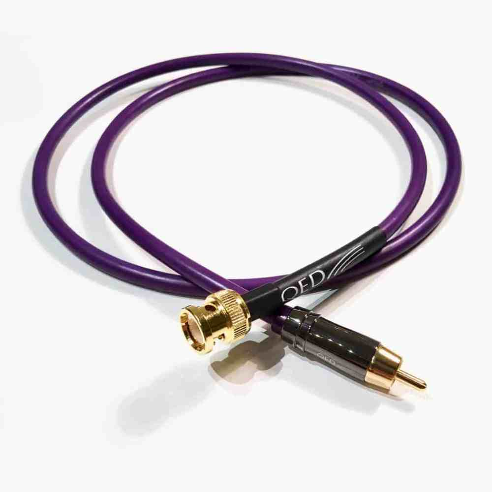 medium resolution of qed performance digital audio 75 coaxial custom bnc rca cable