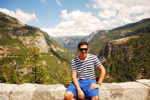 Pete in Yosemite