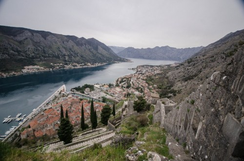 View Out Over Kotor