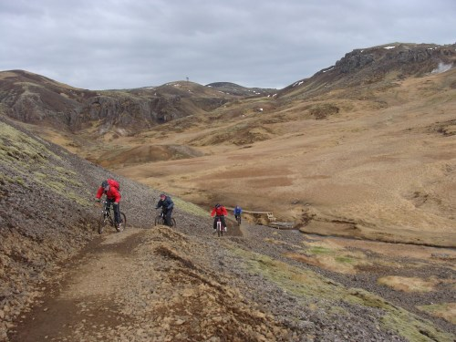 Uphill through the Hot Valley