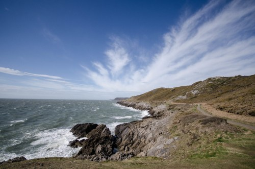Gower's rugged coastline