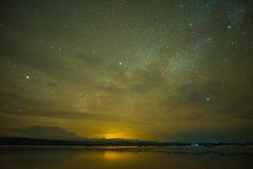 San Blas night sky