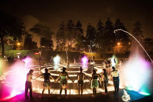 Magic Circuit fountain show Lima