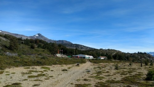 The Chilean border post