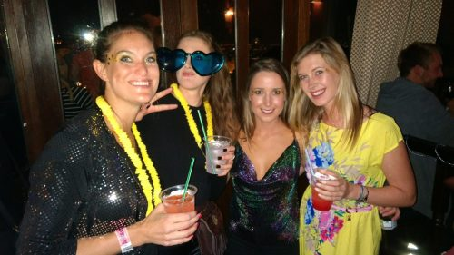 New Year's Eve party at Wild Rover