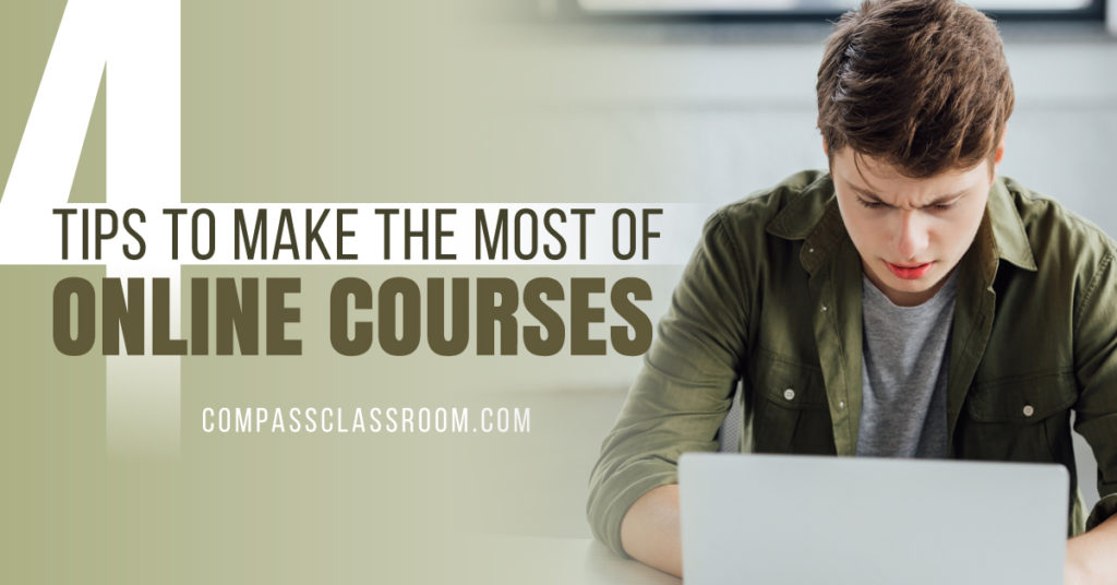make the most of online courses