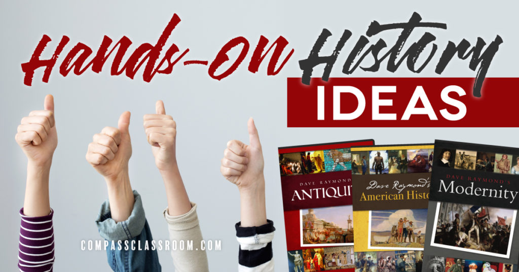 hands-on history ideas