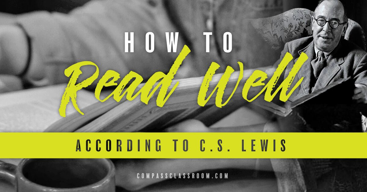 how to read well by C.S. Lewis