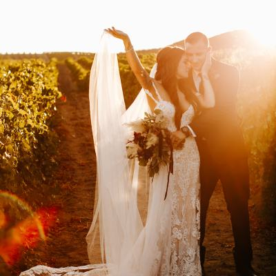 Fazeli Cellars Wedding | Lauren + Ryan