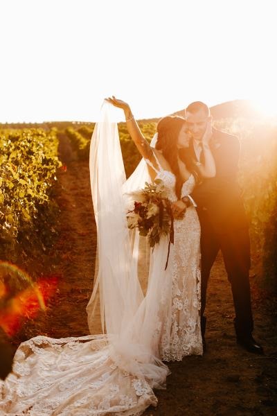 vineyard wedding photos Fazeli cellars wedding in temecula California