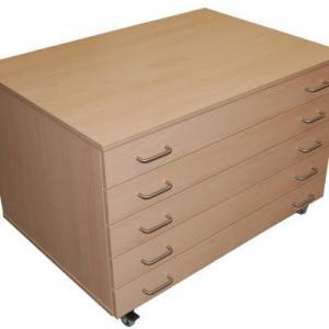 Mobile A1 Paper Cabinet  Compass School Furniture