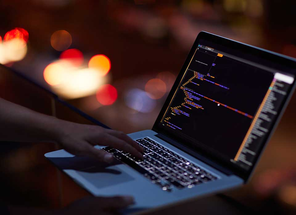 cybersecurity risk on computer