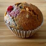 Queques de framboesa / Raspberry muffins