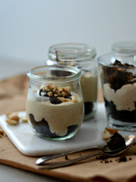 peanut butter mousse with brownie150 1