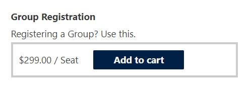 group registration button