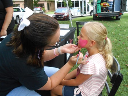 Face Painting Yanceyville NC