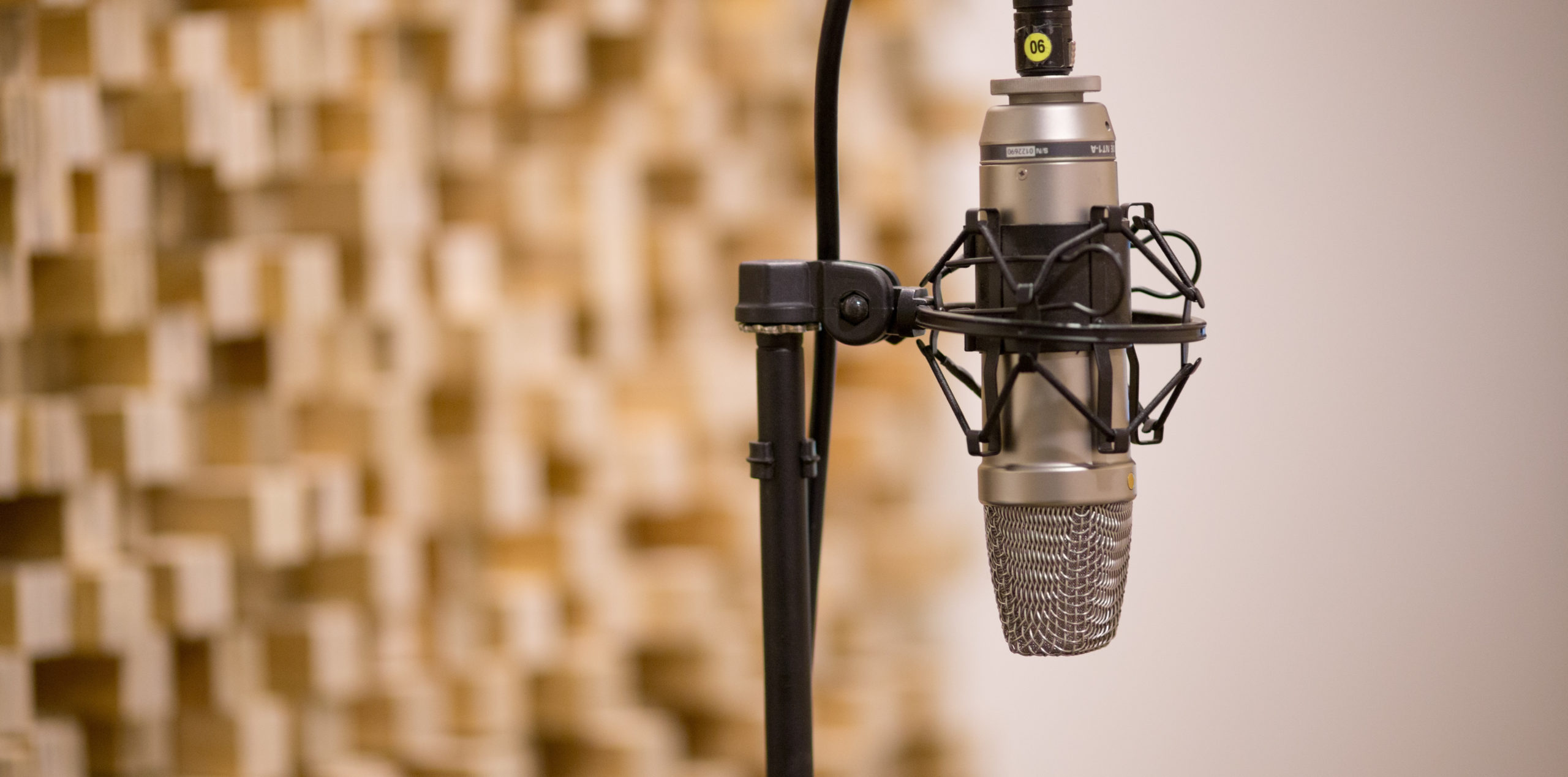 Canva - Microphone In Music Studio