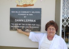 Dawn Leppan, founder of 1000 Hills Community Helpers... giving proper credit where credit is due