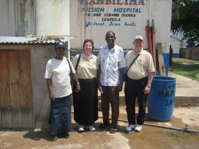 Ed and Wendy Bjurstrom joined the Mission Medic Air team in 2009 for a trip to Mambilima.