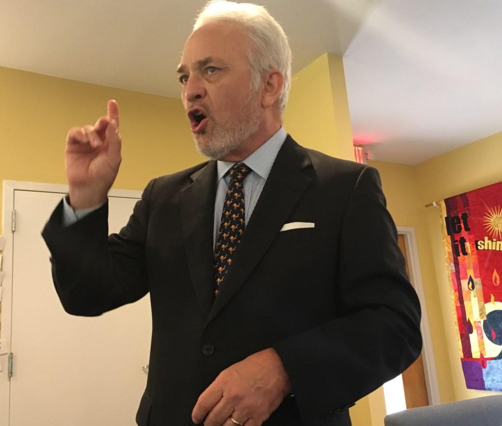 Charles Johnson of Pastors for Children.