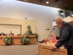 Bob Thomas at County Commission