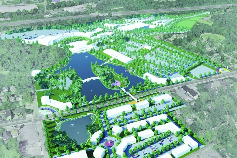 Chilhowee Park rendering